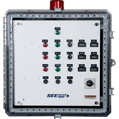 Three Phase Triplex Demand WT3P-6 Pump Control Panel