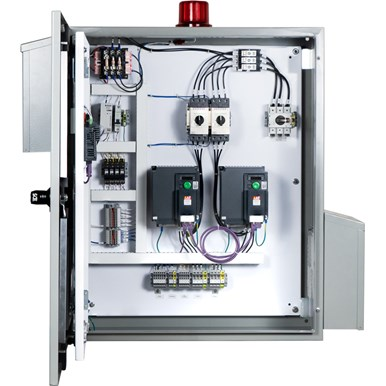 Parabola® VFD Control Panel – Level Applications (inside)