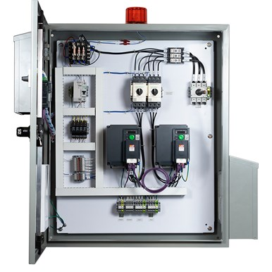 Parabola® VFD Control Panel – Constant Pressure Applications (inside)